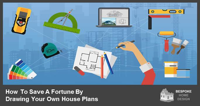 How to draw your own house plans bespoke home design for How to draw your own house plans