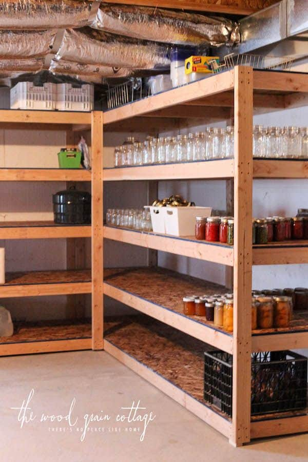 Basement Ideas Pantry