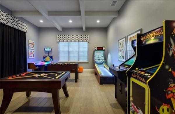 Basement Ideas Games Room