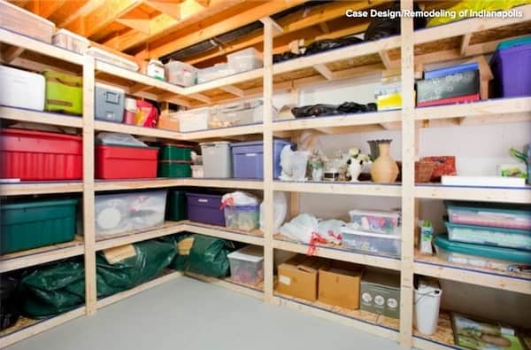 Basement Ideas Storage